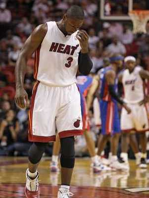 Wade's rib injury in the 2005 Eastern Conference Finals derailed the Heat