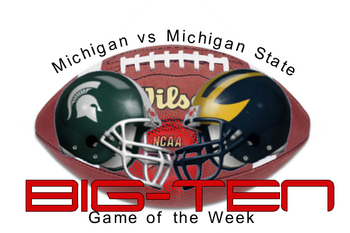 Michigan State 34 - Michigan 31!