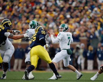 The Game of the Week for the Big Ten: Michigan State vs. Michigan!