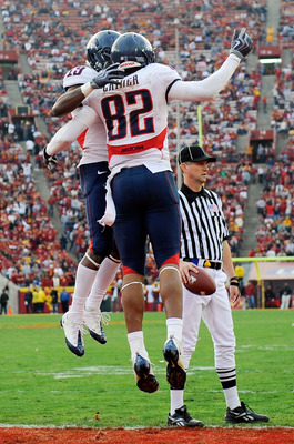 Juron Criner and the Wildcats are hoping to celebrate early and often against Oregon State.
