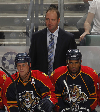 Peter DeBoer was hired as Head Coach of the Florida Panthers on June 13, 2008.