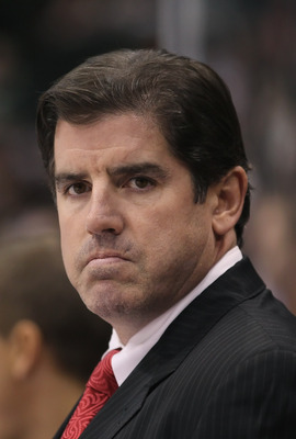 Peter Laviolette was hired by the Philadelphia Flyers on December 4, 2009 to replace John Stevens, and ended up leading the Flyers to the 2010 Stanley Cup Finals.