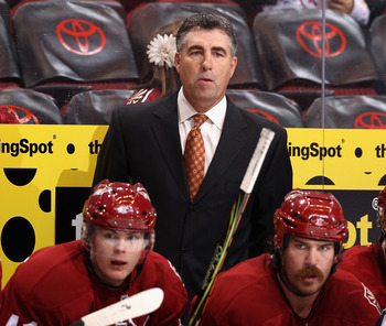 "Dave Tippett was hired on September 24, 2010 to replace Wayne Gretzky as Head Coach of the Phoenix Coyotes.  How many people would like to have ""replacement for Wayne Gretzky"" on their resume?"
