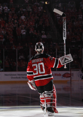 Brodeur could very well be the best goaltender of all time. Thoughts?