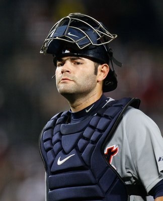 Alex Avila in his road uniform