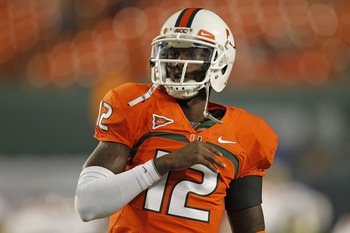 QB Jacory Harris and the 'Canes look to bounce back after taking their first ACC loss.