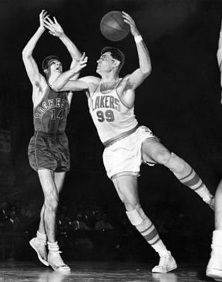 "George Mikan, the NBA's first great ""big man"""