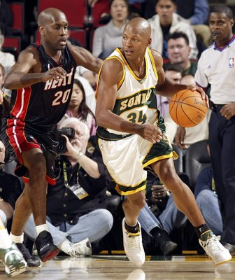 Ray Allen on the West Coast