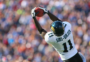 Jags WR Mike Sims-Walker has been a huge disappointment in 2010