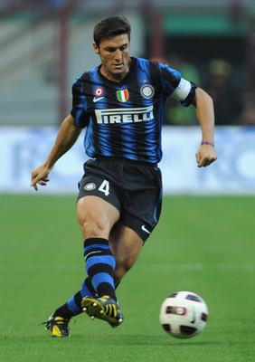 Javier Zanetti has been an Inter mainstay since 1995.