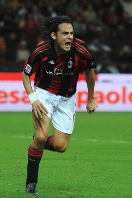 Inzaghi made his Serie A debut the same day as Zanetti.