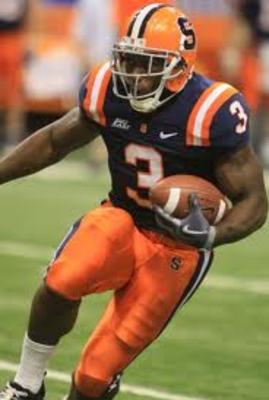 Syracuse running back Delone Carter