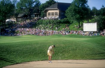 4 Jul 1998:  Mhairi McKay in action during the Women''s U. S. Open at the Blackwol Run Resort in Kohler, Wisconsin. Mandatory Credit: Craig Jones  /Allsport