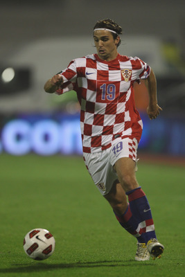 ZAGREB, CROATIA - SEPTEMBER 07:  Niko Kranjcar of Croatia during the EURO 2012 Qualifying Group F match between Croatia and Greece at the Stadion Maksimir on September 7, 2010 in Zagreb, Croatia.  (Photo by Michael Steele/Getty Images)