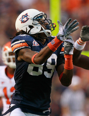 Auburn Wide Receiver Darvin Adams