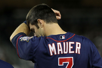 Joe Mauer did not rise to the occaision to lead the Twins in the post season.
