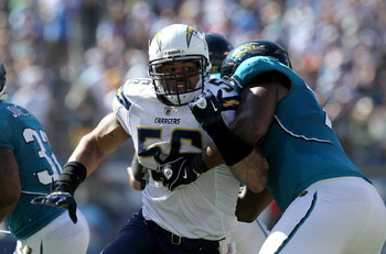 Shawne Merriman now will be considered a former Charger after being placed on IR.