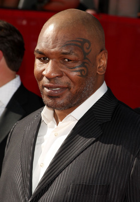 LOS ANGELES, CA - JULY 15:  Former heavyweight champion Mike Tyson arrives at the 2009 ESPY Awards held at Nokia Theatre LA Live on July 15, 2009 in Los Angeles, California. The 17th annual ESPYs will air on Sunday, July 19 at 9PM ET on ESPN.  (Photo by J