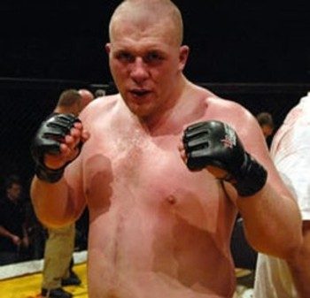 UK Fighter Rob Broughton makes his UFC debut