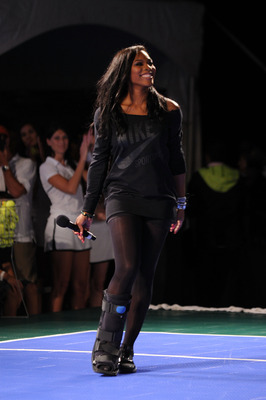 NEW YORK - AUGUST 25:  Tennis player Serena Williams attends the Nike Tennis Primetime Knockout event at Pier 54 on August 25, 2010 in New York City.  (Photo by Bryan Bedder/Getty Images)