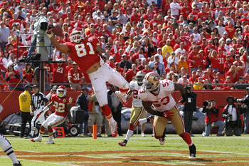 Tony Moeaki leads the Chiefs in receptions, and he should add to that lead against the Texans porous pass defense