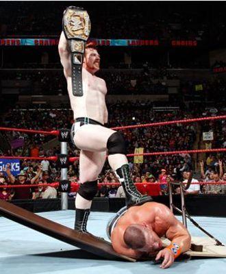 Sheamus vs the rock