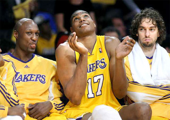 The Lakers obscenely talented trio of big men
