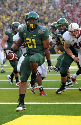 LaMichael James leads the nation in rushing