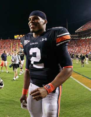 Cameron Newton is the new Heisman poll leader