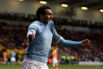 Tevez is becoming Man City's only scoring striker