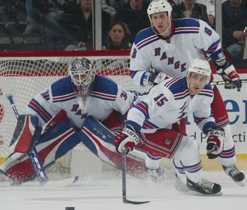 The Rangers play great defence, but you need to score to win