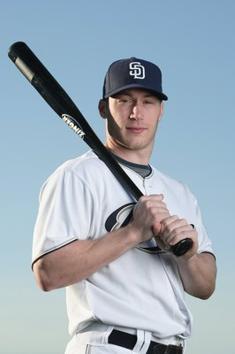 PEORIA, AZ - FEBRUARY 24:  Matt Antonelli #10 of the San Diego Padres poses during photo day at Peoria Stadium on February 24, 2009 in Peoria, Arizona. (Photo by Donald Miralle/Getty Images)