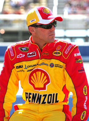 FONTANA, CA - OCTOBER 10:  Kevin Harvick, driver of the #29 Shell/Pennzoil Chevrolet waits on pit road prior to the NASCAR Sprint Cup Series Pepsi Max 400 on October 10, 2010 in Fontana, California.  (Photo by Jerry Markland/Getty Images for NASCAR)