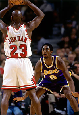 Can Kobe Bryant ever surpass Michael Jordan's legend?
