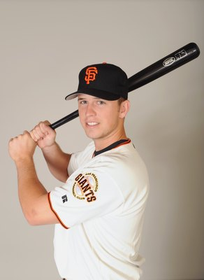 SCOTTSDALE, ARIZONA - FEBRUARY 23:  Buster Posey of the San Francisco Giants poses during photo day at Scottsdale Stadium on February 23, 2009 in Scottsdale, Arizona. (Photo by: Harry How/Getty Images)