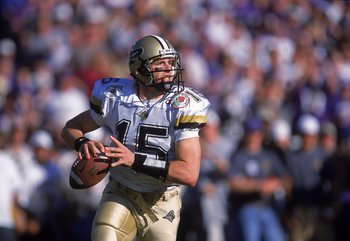 Brees in the 2001 Rose Bowl
