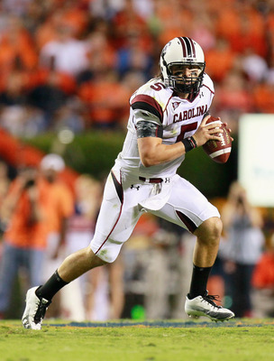 South Carolina Quarterback Stephen Garcia