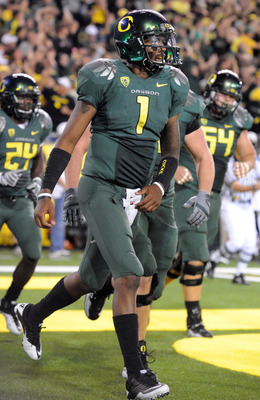 Oregon Quarterback Darron Thomas