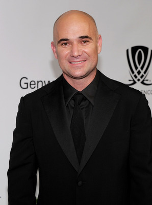 LAS VEGAS - OCTOBER 09:  Former tennis player Andre Agassi arrives at the Andre Agassi Foundation for Education's 15th Grand Slam for Children benefit concert at the Wynn Las Vegas October 9, 2010 in Las Vegas, Nevada. The event raises funds to help impro