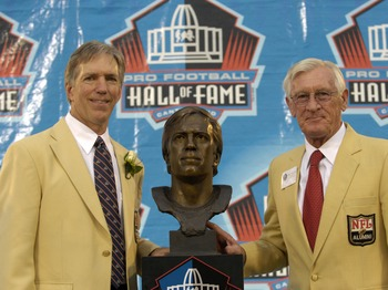 Larry Wilson Along With Roger Wehrli At The Hall of Fame
