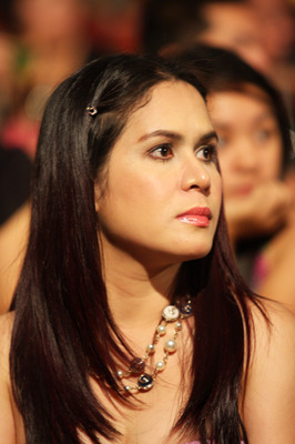 GENERAL SANTOS, PHILIPPINES - MAY 15:  World welterweight boxing champion Manny Pacquiao's wife Jinkee Pacquiao attends an event at the KCC Mall on May 15, 2010 in General Santos, Philippines. Pacquiao was there to celebrate his election on becoming a mem