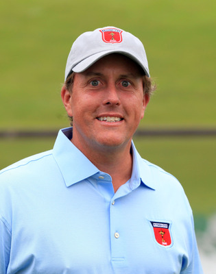 NEWPORT, WALES - SEPTEMBER 28:  Phil Mickelson of the USA poses for a portrait during the USA Team Photocall prior to the 2010 Ryder Cup at the Celtic Manor Resort on September 28, 2010 in Newport, Wales.  (Photo by David Cannon/Getty Images)