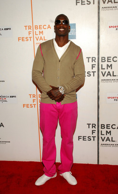 NEW YORK - APRIL 25: Professional football player Chad Ocho Cinco attends a screening of  'Kobe Doin' Work' during the 2009 Tribeca Film Festival at BMCC Tribeca Performing Arts Center on April 25, 2009 in New York City.  (Photo by Rob Loud/Getty Images f