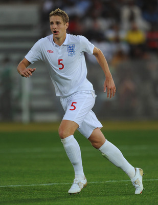 MORULENG, SOUTH AFRICA - JUNE 07: Michael Dawson of England in action during the friendly match between England and Platinum Stars at the Moruleng Stadium on June 7, 2010 in Moruleng, South Africa.  (Photo by Michael Regan/Getty Images)