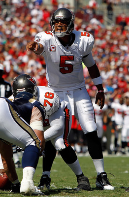 Josh Freeman is leading the Bucs to a winning season so far this season.