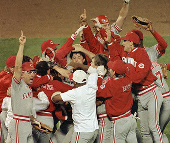 1990 World Series Cincinnati Sweeps Oakland In 4 Games
