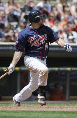 MINNEAPOLIS, MN - JUNE 30: Jason Kubel #16 of the Minnesota Twins bats in the eighth inning against the Detroit Tigers during their game on June 30, 2010 at Target Field in Minneapolis, Minnesota. Twins won 5-1. (Photo by Hannah Foslien /Getty Images)