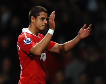 Javier Hernández scoring form could land him a starting spot