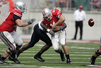 An Ohio State Specialty:  Fumbling the Football!