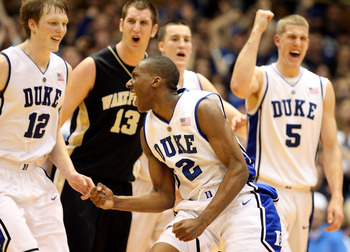 Kyle Singler (left) and Nolan Smith (center) headline a talented Blue Devil squad